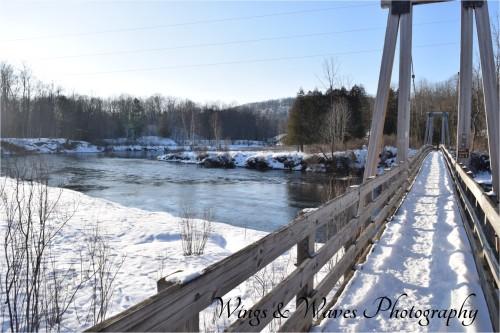 Little Mac Bridge on the Manistee